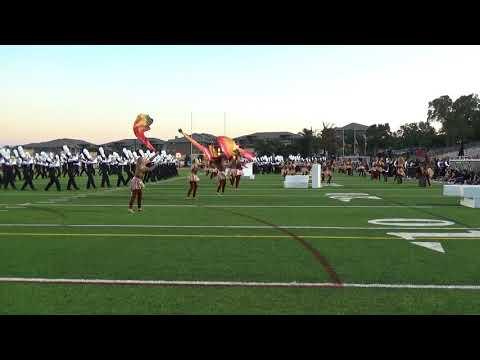 2017 Vandegrift Marching Band vs. Lehman