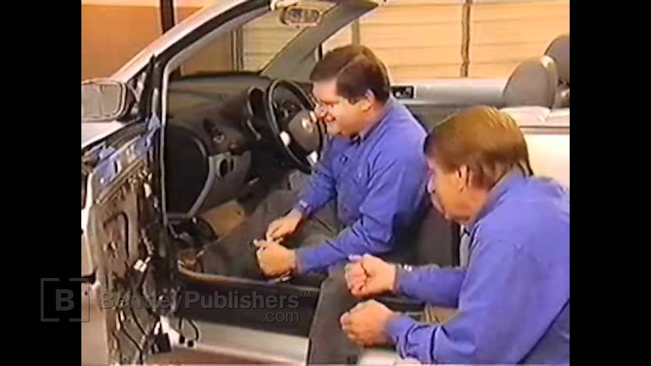 VW New Beetle Convertible 20032010  Door window regulator  DIY Repair  YouTube