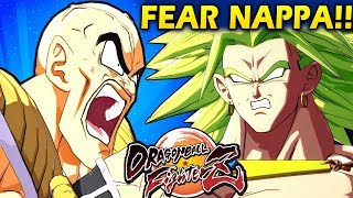 NAPPA STRONGER THAN BROLY?!? - Dragon Ball FighterZ - Ranked Matches! (Nappa, Vegeta, Goku)