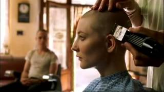 Cate Blanchett's headshave in Heaven