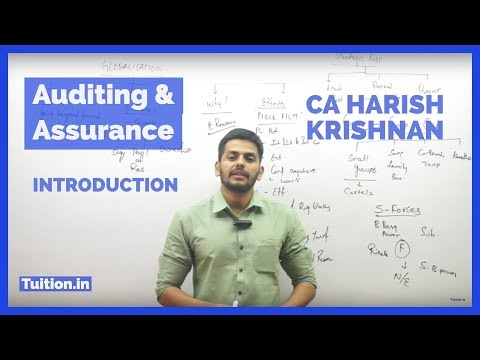 Introduction To Auditing And Assurance By CA Harish Krishnan