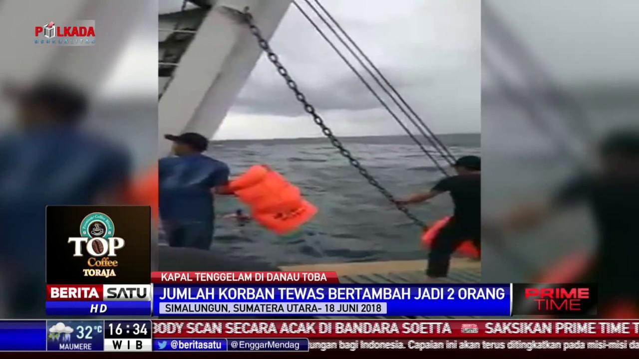 Korban Tewas Kapal Tenggelam di Danau Toba Menjadi Dua ...