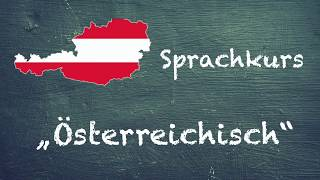 Sprachkurs Österreichisch – Die wichtigsten österreichischen Ausdrücke für Touristen (Lektion 2)