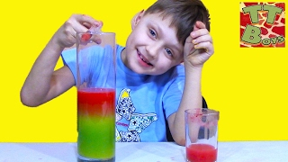 Крутые Эксперименты С Жидкостью Опыты С Водой