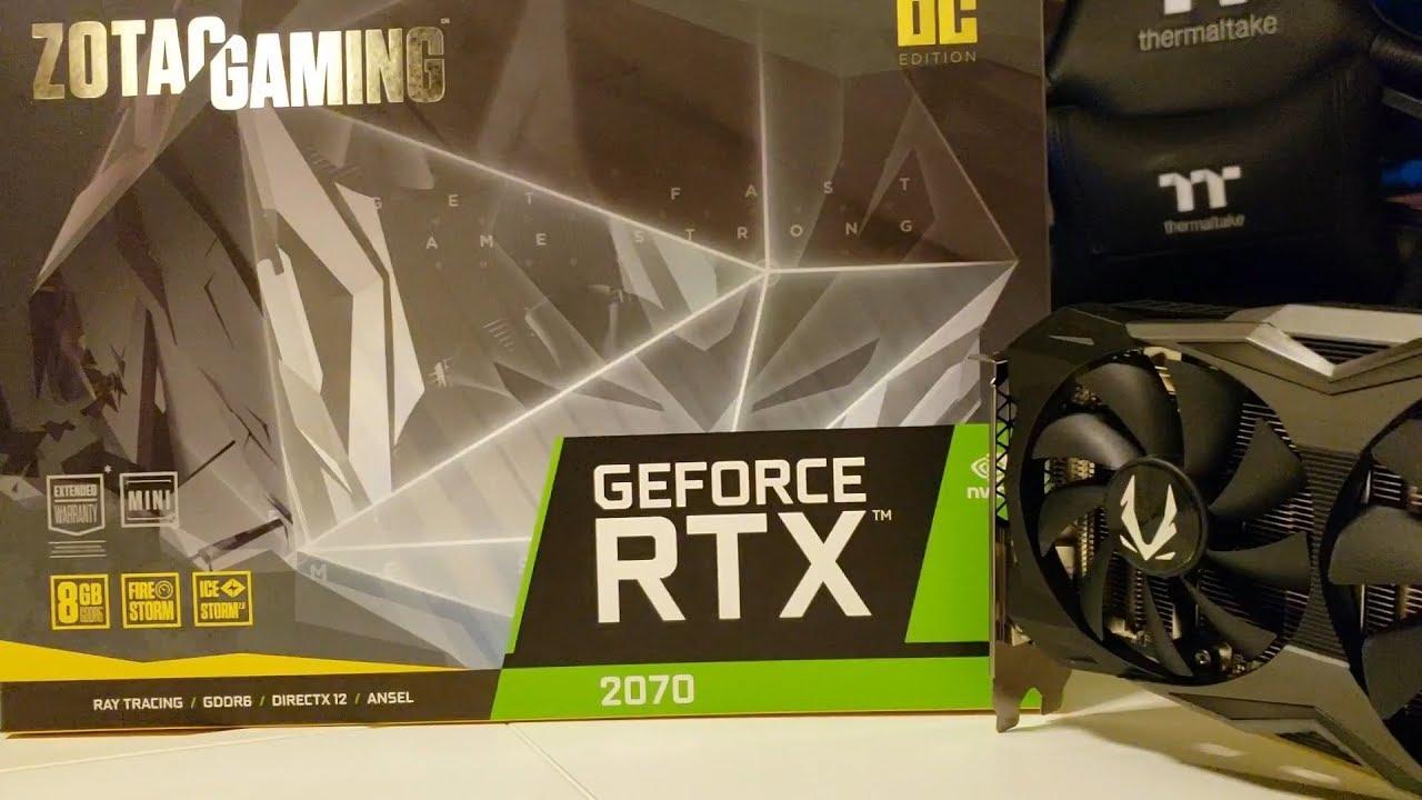 Zotac GeForce RTX 2070 OC MINI - The World's Smallest RTX 2070