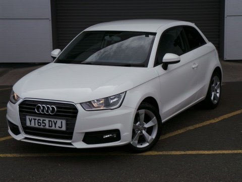 2015 65 Audi A1 1 0 Tfsi Sport 3dr In White Inc Bluetooth Air Con And Sat Nav