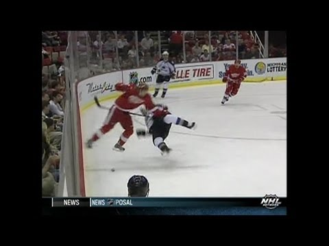 2008 Playoffs: Col @ Det - Game 1 Highlights
