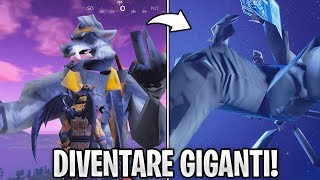 COME DIVENTARE GIGANTI E INVINCIBILI SU FORTNITE! NUOVO GLITCH!