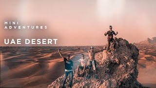 Exploring the UAE desert - DJI Spark
