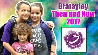 Bratayley Then And Now 0017 (Annie, Hayley, Caleb)