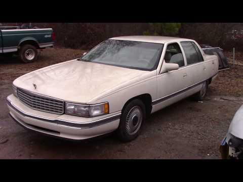Scrapped?! 1995 Cadillac Sedan DeVille RUNS!