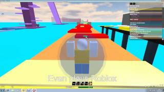 Evan plays roblox longest easy obby 1.flv