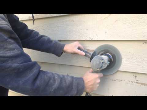 Exterior wood siding painting preparation - tips, tools, how to guide