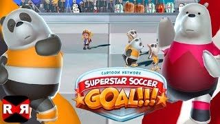 Cartoon Network Superstar Soccer Goal - Panda Bear vs Ice Bear - iOS / Android