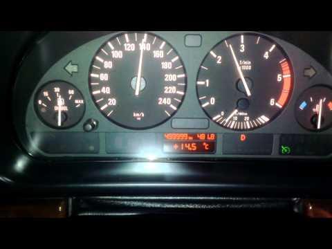 BMW E39, reached 500 000 KM mileage