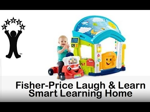 Fisher-Price Laugh & Learn Smart Learning Home And Car