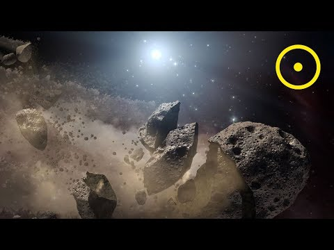 The Asteroid Belt Between Mars and Jupiter