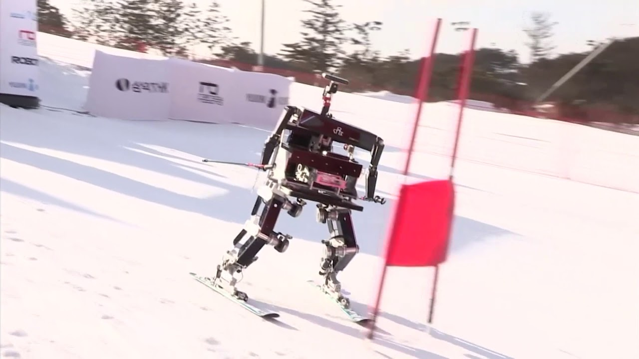 Robot skiing comes to Winter Olympics