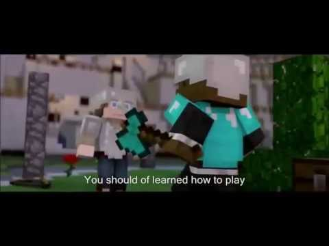 "Minecraft ""The Hunger Games Song"" by TheBajanCanadian with Lyrics"