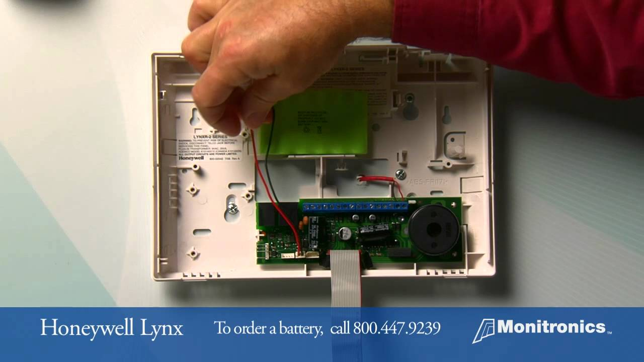 Vivint Alarm System >> How to Change Your Honeywell Lynx Battery - YouTube