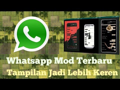 Aplikasi Whatsapp Mod Terbaru   Tampilan Jadi Lebih Keren - YouTube