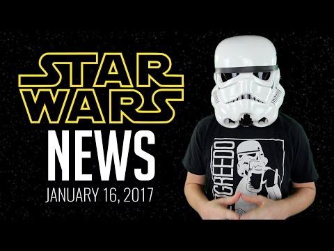 Star Wars News - January 16 2017 - CGI Carrie Fisher, Chewbacca Deleted Scene, Lucas Museum & More