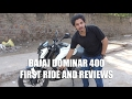 BAJAJ Dominar 400 | Pros and Cons | Review.