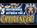 5 Differences Between A Challenger Player & You (All Roles - Jungle Focus)