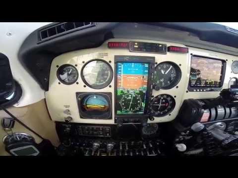 Baron Instruction Flight