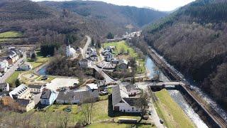 Camping Kautenbach im Luxemburger Ösling mit Umgegend.