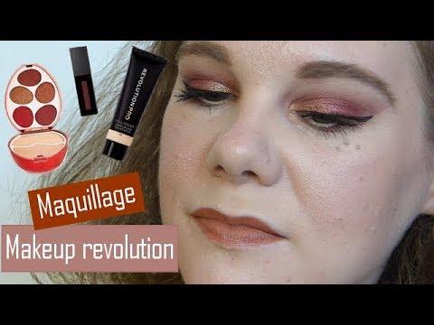 [GRWM] Maquillage makeup revolution acheté sur Revolution Beauty