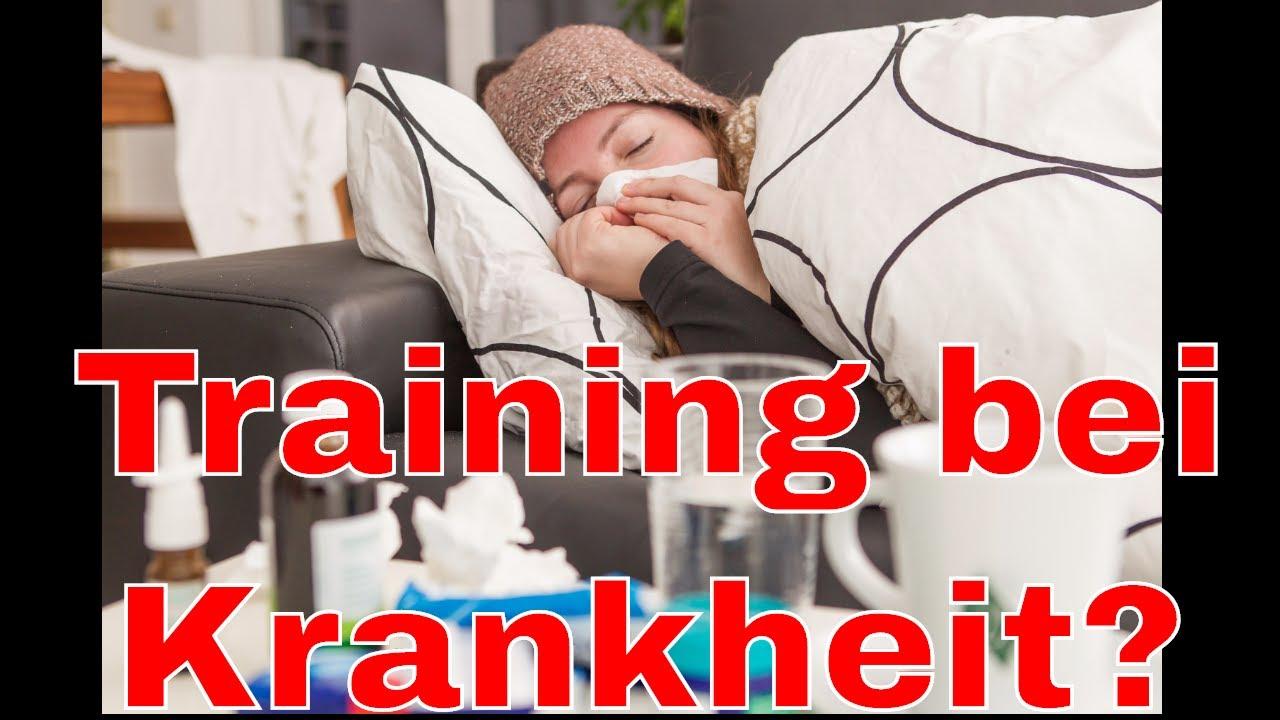 training bei krankheit trainieren trotz grippe was tun bei erk ltung youtube. Black Bedroom Furniture Sets. Home Design Ideas