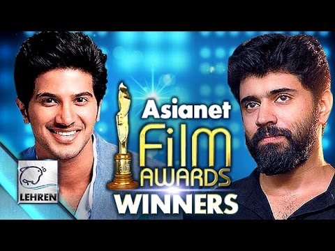 Asianet Film Awards 2016: WINNER List | Dulquer Salmaan | Mohanlal | Lehren Malayalam