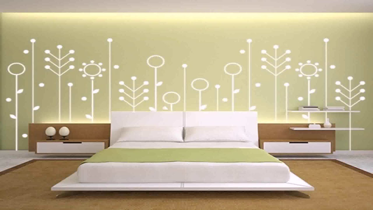 House Interior Wall Painting Designs - YouTube