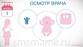 Ребенку 1 месяц - срыгивания, одежда для младенца, развитие ребенка.