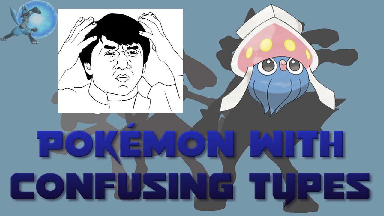 pokémon with confusing types youtube