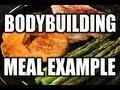 ★ QUICK BODYBUILDING MEAL:  Chicken & Sweet Potatoes