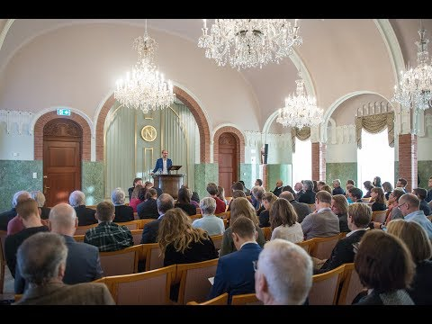 \'Why we Need a Green New Deal\' - Rutger Bregman speaking at the Norwegian Nobel Institute