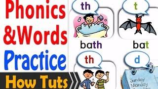 new phonics and words half hour practice