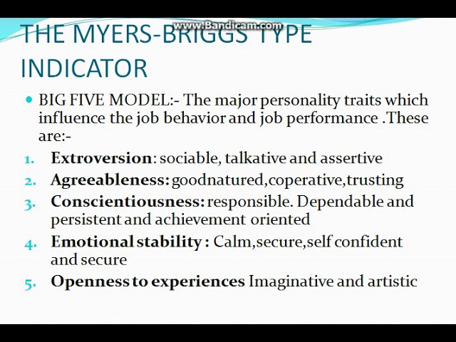 organizational behaviour emotional stability Leadership traits - emotional stability if there is a highly talented but volatile leader in the organization  if you are working to change your behavior.