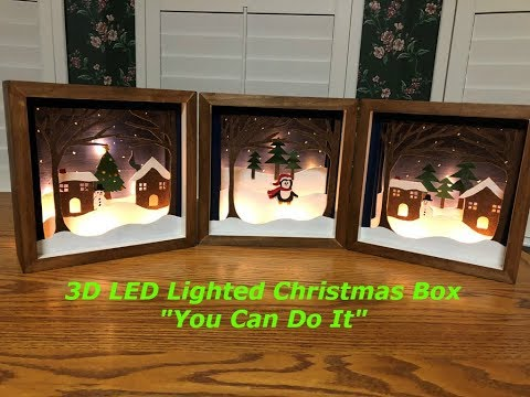 Fairy Light LED 3D Box