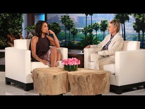Rosario Dawson Dances on 'Ellen'