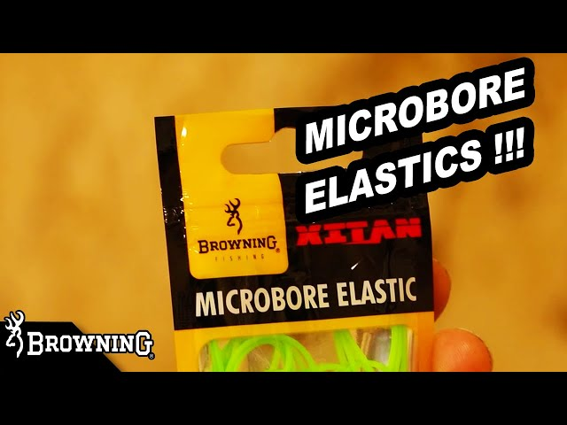 MICROBORE ELASTICS by BROWNING FISHING