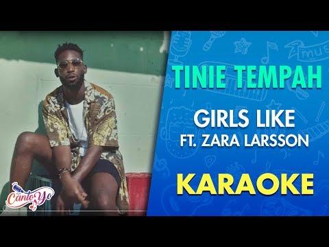 Tinie Tempah - Girls Like ft. Zara Larsson (Karaoke) | CantoYo