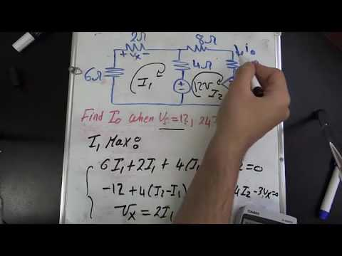 Circuits I Chapter 4 part 1/7 (Circuit Theorems)
