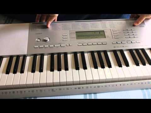 Casio LK-280 Keyboard: Keys Won't Light Up