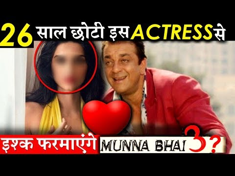 This Actress Will Romance Sanjay Dutt in MUNNABHAI 3!
