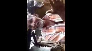 Funny indian old man singing hindi song