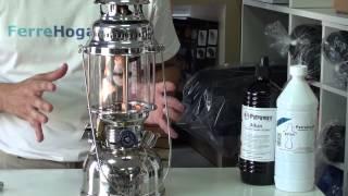 Encendido rapido l mpara petromax hk500 - Lampara de parafina ...