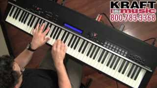 Kraft Music - Yamaha CP4 STAGE Digital Piano Demo with Blake Angelos